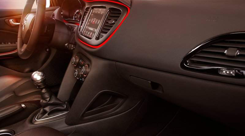 2013 Dodge Dart Interior Design