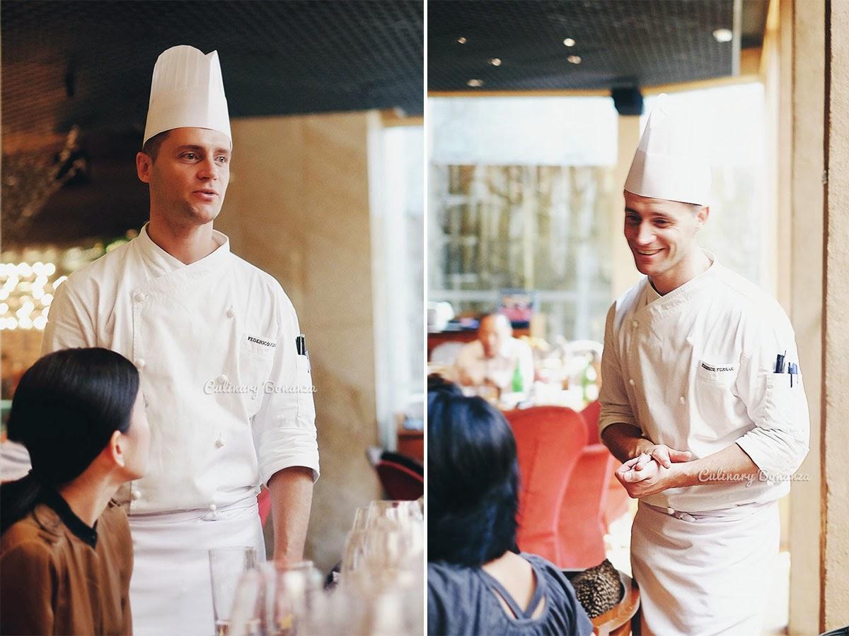 Chef Federico Ferrari of Park Hyatt Buenos Aires (www.culinarybonanza.com)