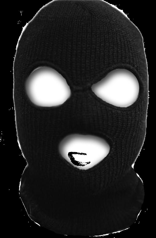 Ini topeng, bukan teroris