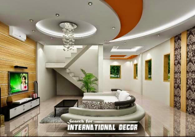 false ceiling pop design, modern pop designs interior, pop design LED lights