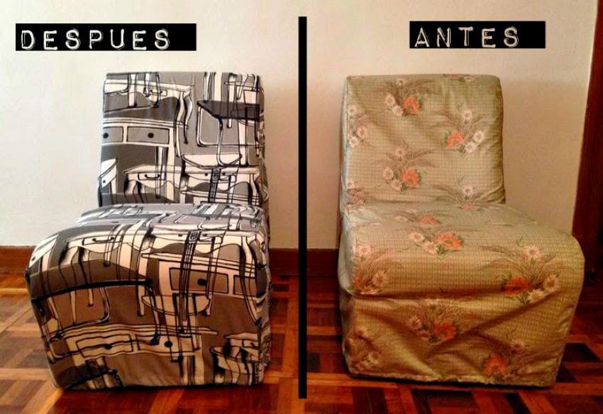 ikea hack:nueva vida para unos sofas