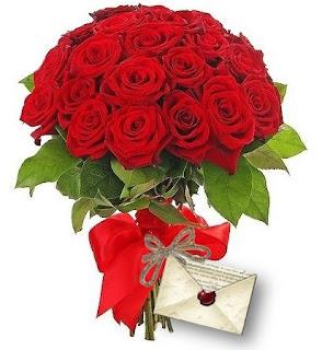 Buchet din 35 de trandafiri roşii