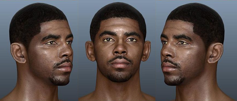 NBA 2K14 Kyrie Irving NBA Live 14 Face Texture Mod