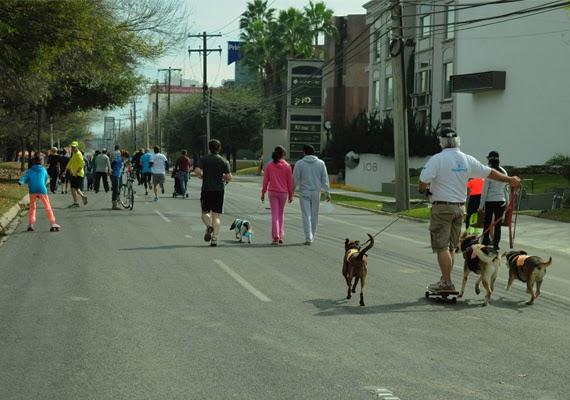 Domingo é dia de esporte e lazer na Calzada em San Pedro
