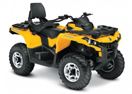 O Outlander Max ganhou a motorização 1.0 para 2013 – a denominação Max  identifica os quadriciclos Can-Am que podem levar também um passageiro. 34b64debe0f8c