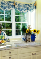 French Country Decorating Blue Yellow
