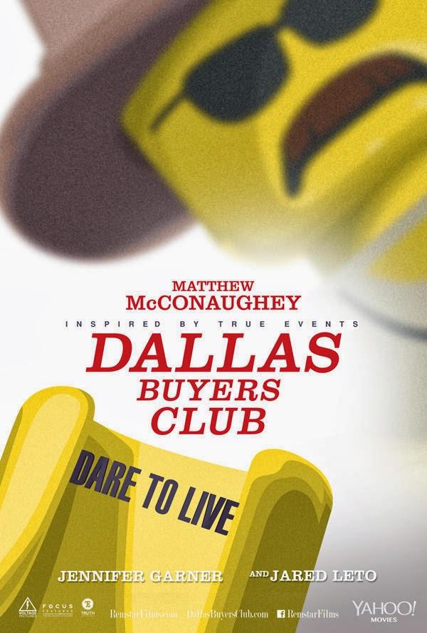 Poster Lego - Dallas Buyers Club
