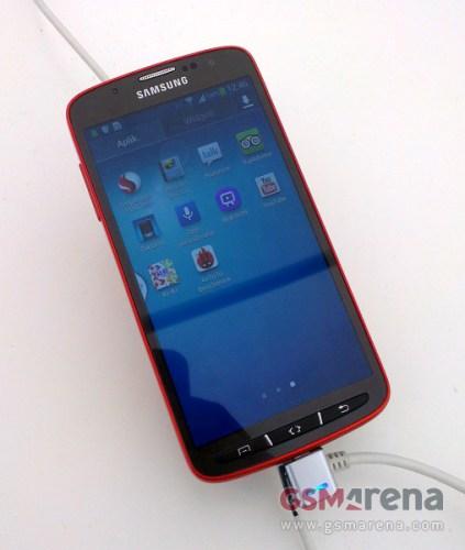 Prime immagini del nuovo smartphone resistente all'acqua di Samsung