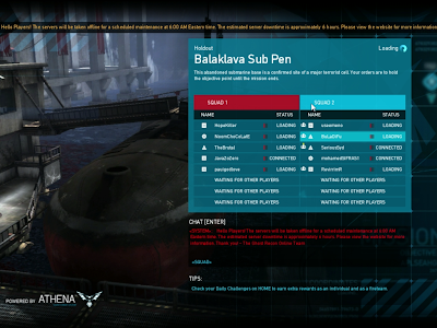 Ghost Recon Online - Balaklava Sub Pen Loading Screen
