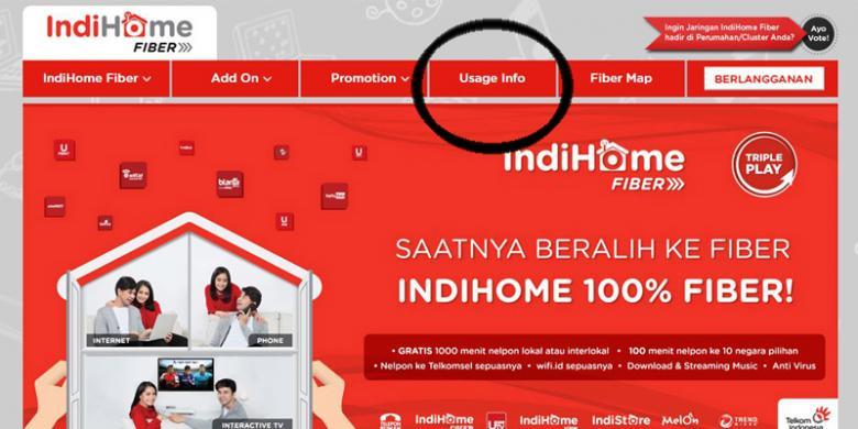 Cara Cek Kuota Internet Telkom IndiHome