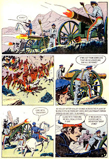 Cadet Gray of West Point v1 #1 dell comic book page art by Al Williamson
