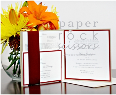 Ruby and Gold is always a beautiful mix of colors Whether the wedding be in