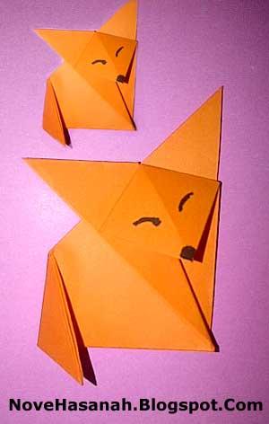 cara membuat serigala untuk anak SD