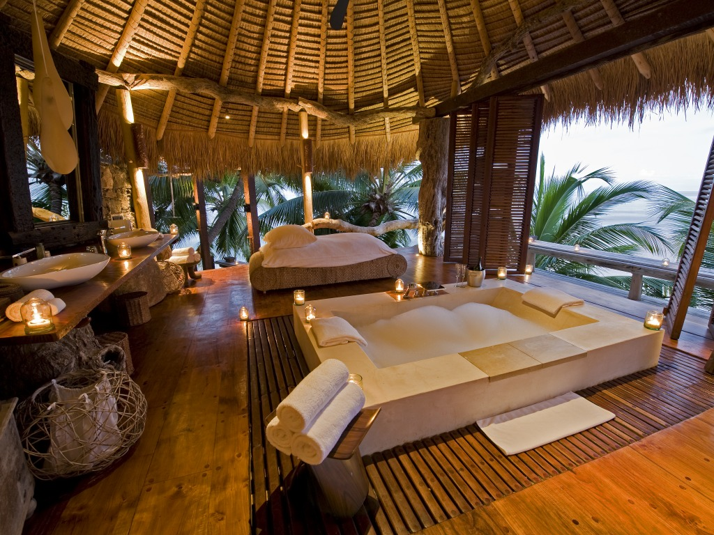 Passion for luxury north island lodge in the seychelles for Hotel luxury world