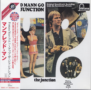 MANFRED MANN - UP THE JUNCTION (FONTANA 1968) Jap mastering cardboard sleeve + 9 bonus