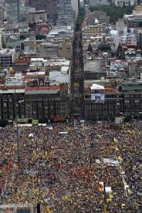 Cierre de Campaña de López Obrador