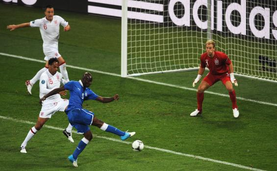Inggris vs Italia Euro 2012