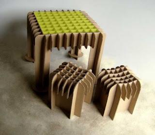 Como fabricar muebles con carton reciclado aprender for Hacer muebles con carton
