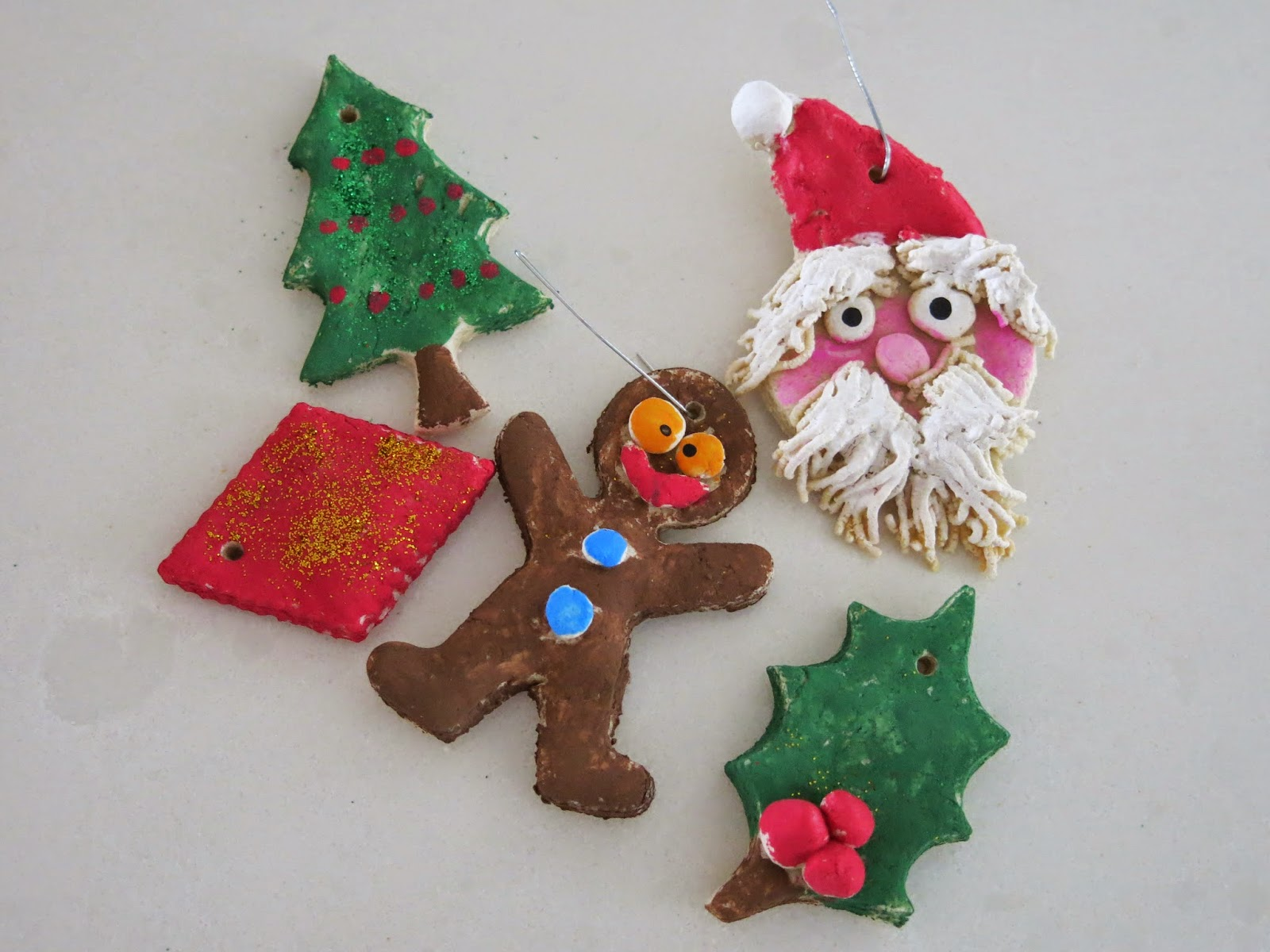 Caker Cooking: Old-Fashioned Salt Dough Ornaments