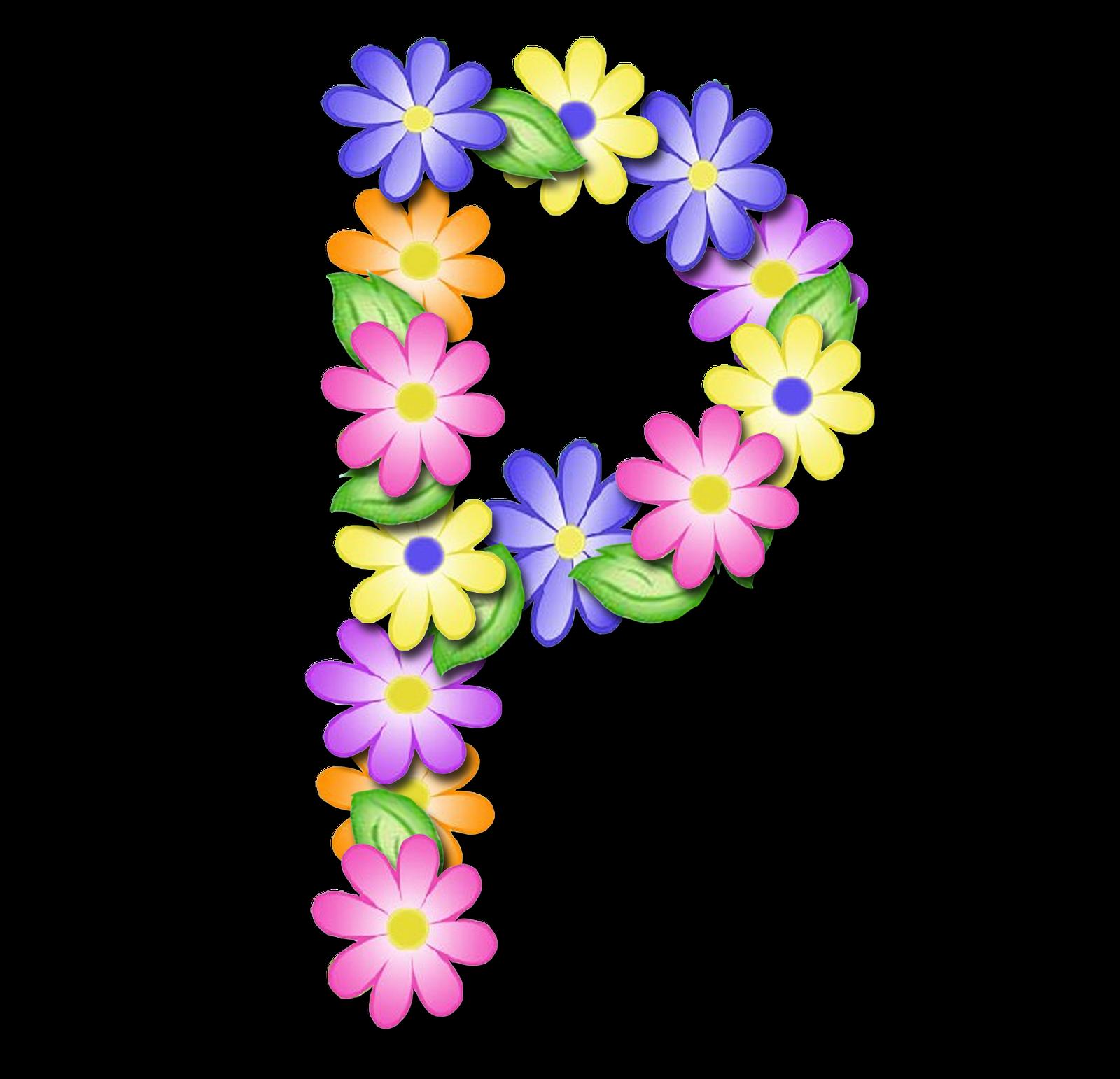 Alfabeto De Primavera Letras Em Png Muito Lindo Letras Em