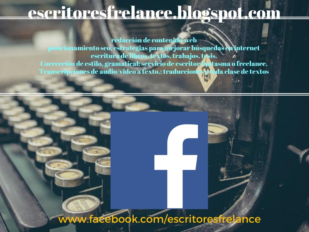 Escritoresfrelance: Curriculum vitae