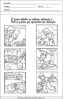 MEIO AMBIENTE ATIVIDADES PARA EDUCAÇÃO INFANTIL