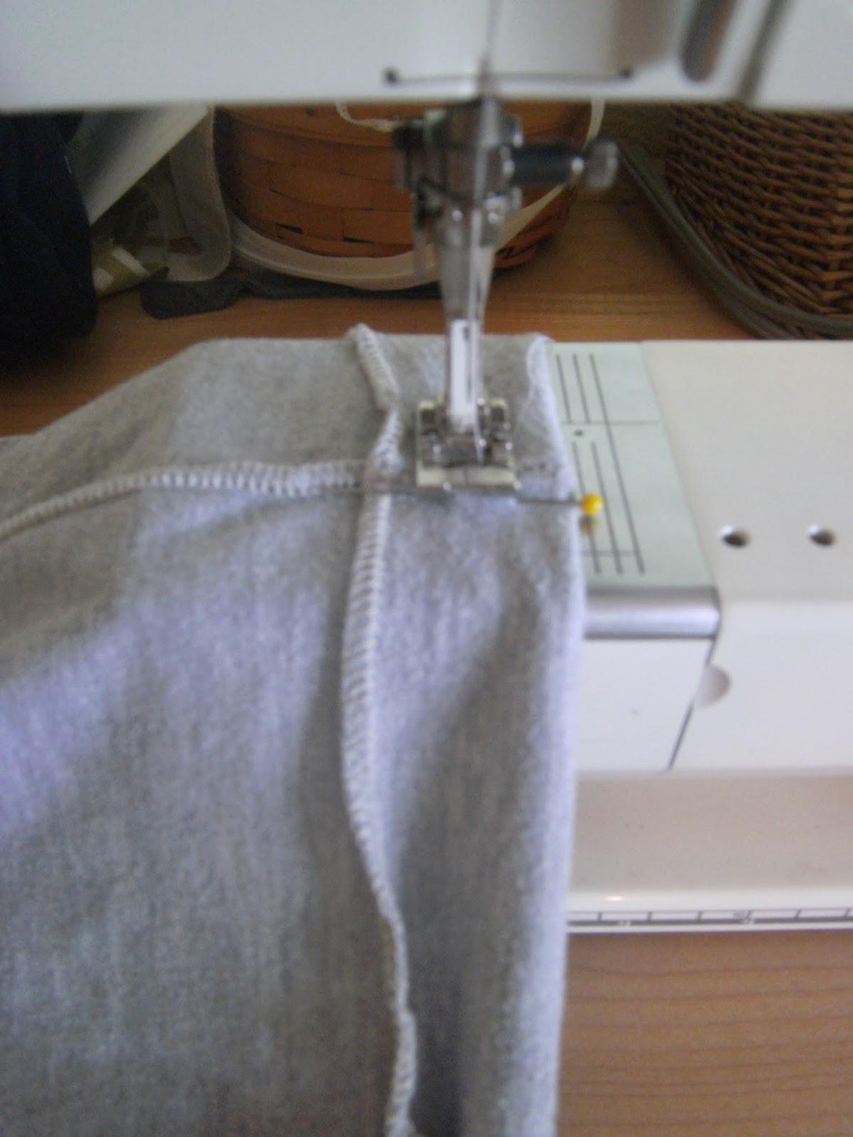 how to cut leggings to make them shorter