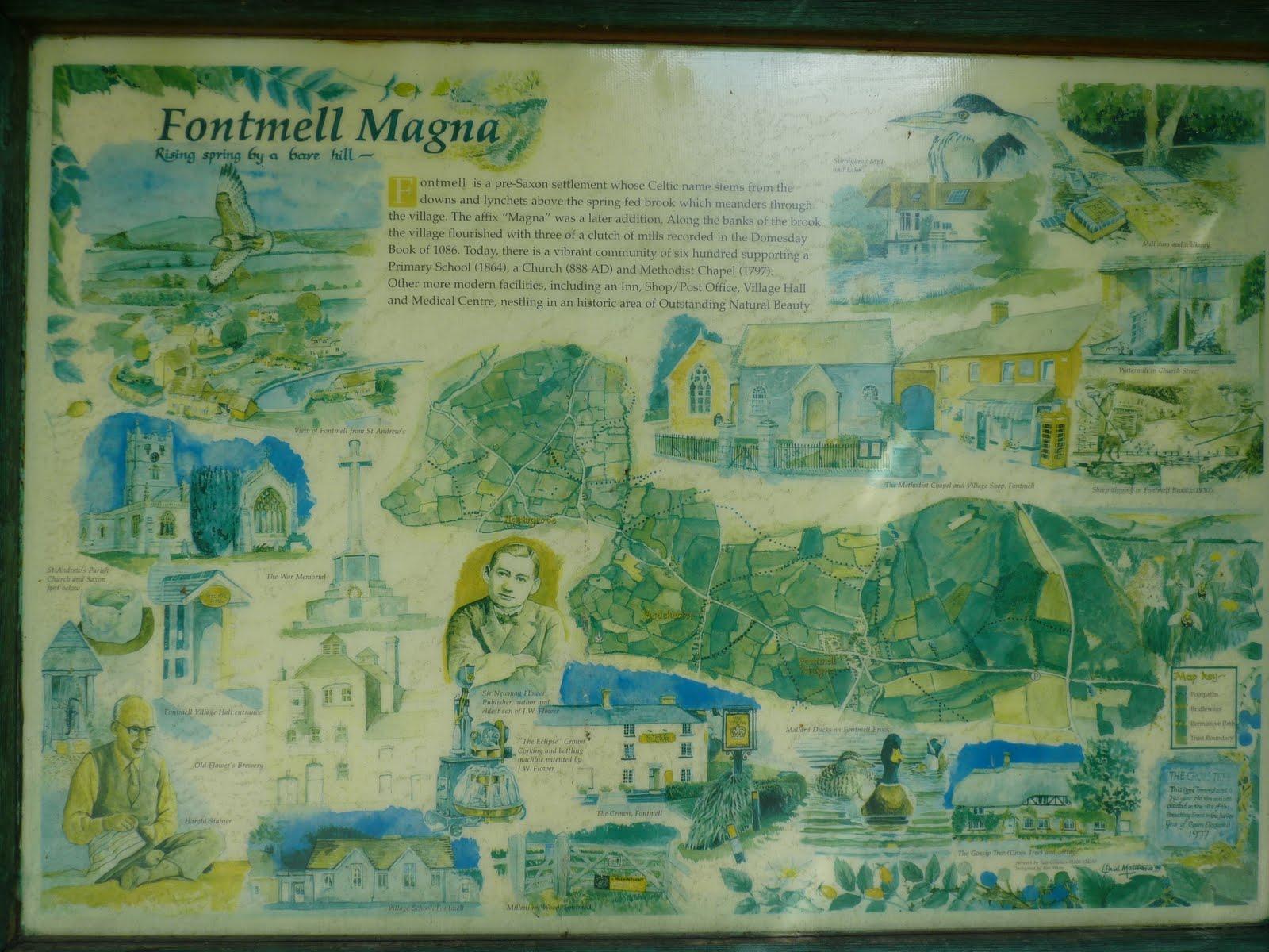 Fontmell-Magna-Village