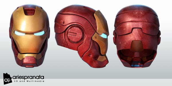Iron Man Mark III Helmet