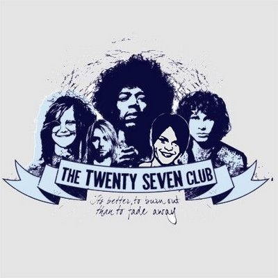 club 27 The members of the world famous forever 27 club have invented genres, pioneered performances and musical techniques and influenced millions of people find out about the myths, visit the hall of fame or check out the blog.