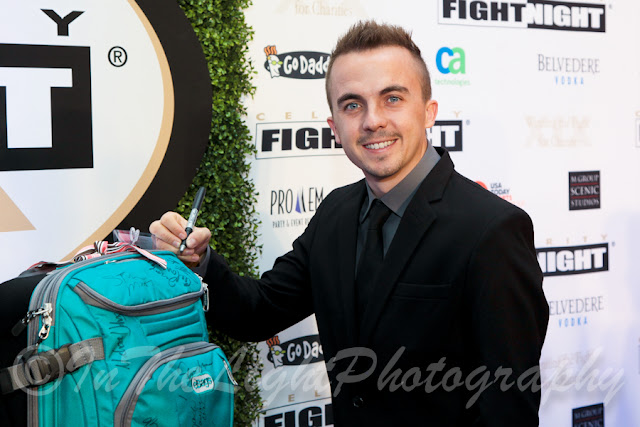 Celebrity Fight Night 2013 Red Carpet Frankie Muniz