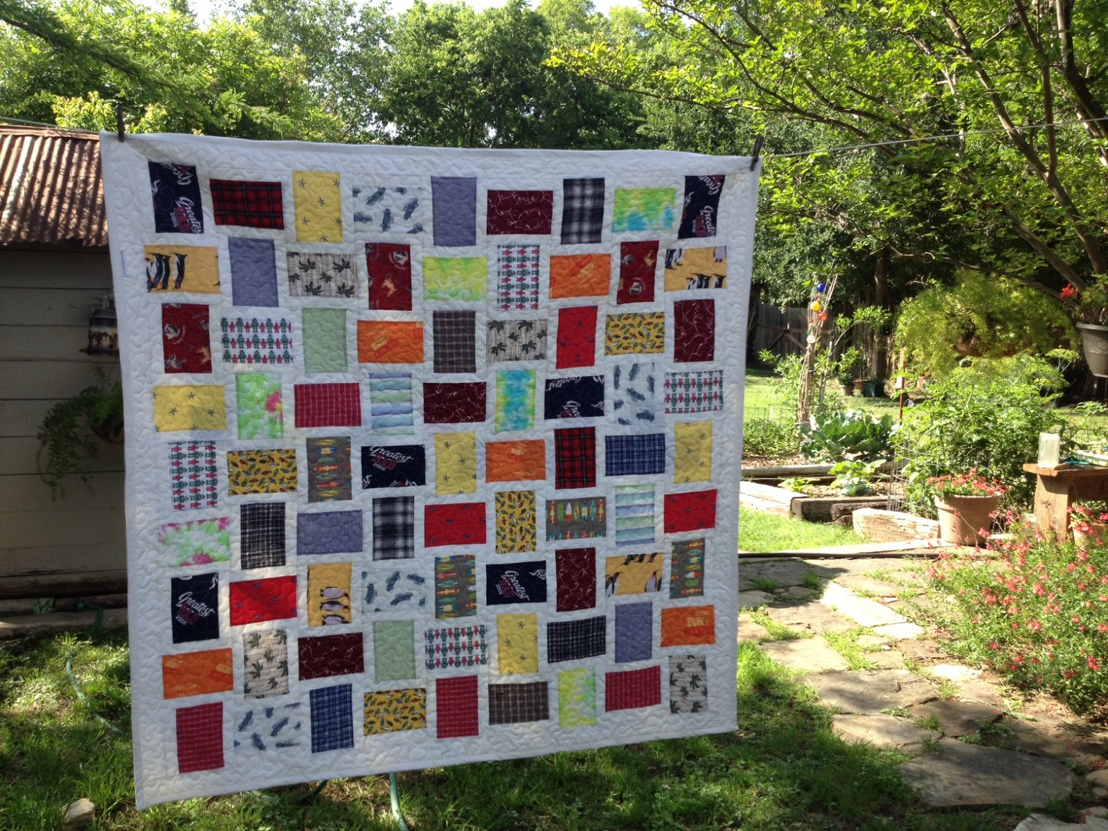 Sew And Tell Quilts: Memorial Boxer Shorts Quilt : memorial quilt patterns - Adamdwight.com