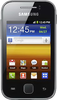 Samsung Galaxy Y SCH-I509 CDMA Factory data reset