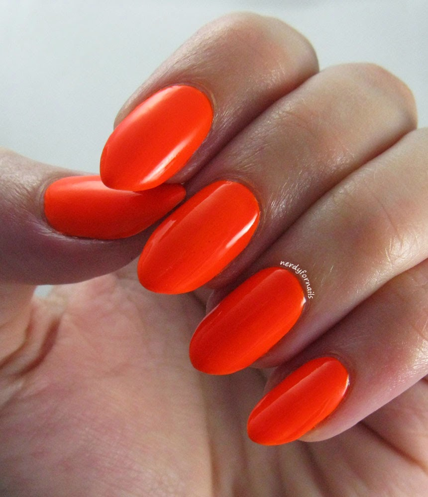 Neon Orange Spoiled Jail Bait Swatch