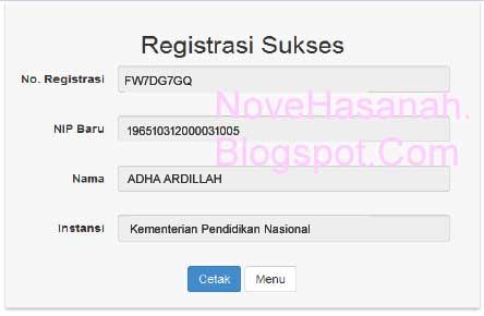 Cara Registrasi PUPNS 2015 di BKN Secara Online 3