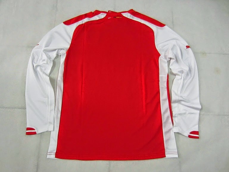 14-15 ARSENAL HOME LONGSLEEVE PUMA NEW