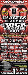 Los Jefes de Jefes del Rock Mexicano 2011