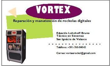VORTEX ROCKOLA