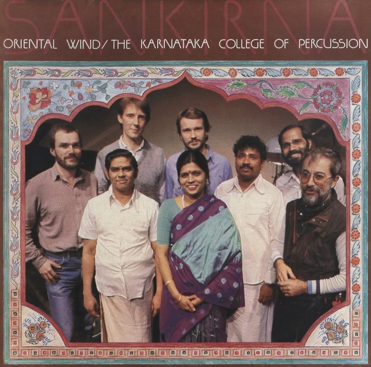 Oriental Wind Karnataka College Of Percussion Sankirna