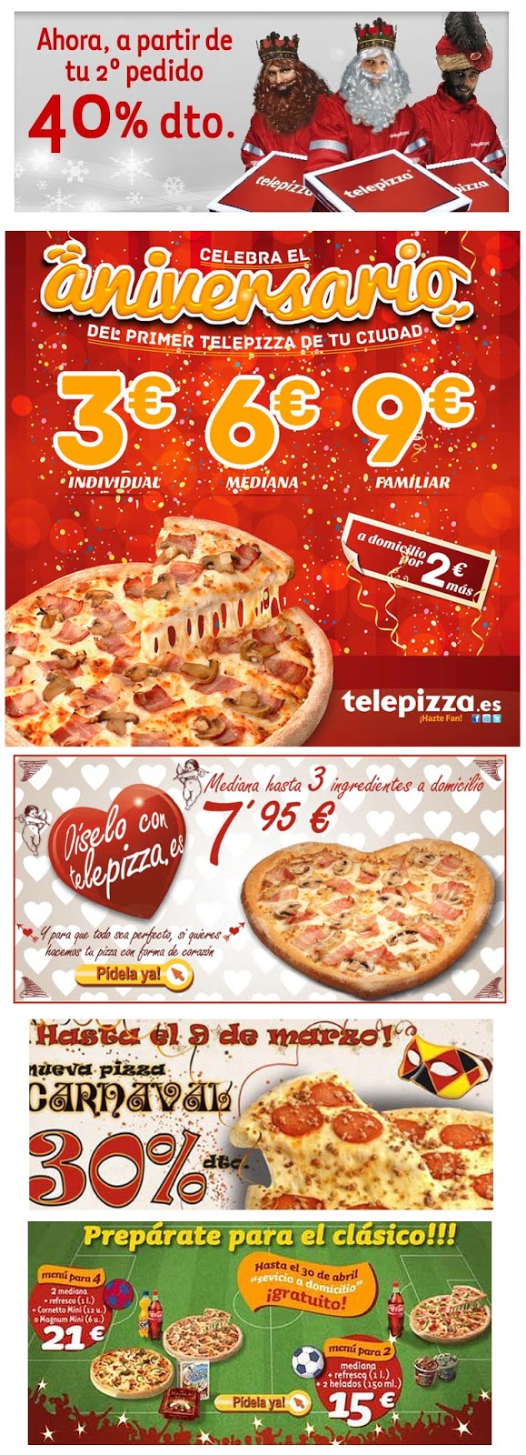 EMPRESAS: Telepizza, la historia de los \