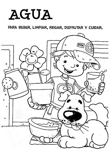 dibujo sobre nino trabajador: