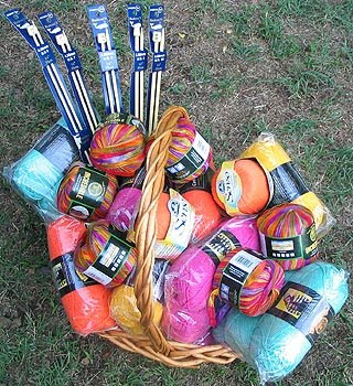 Cotton Ease Yarn Stash