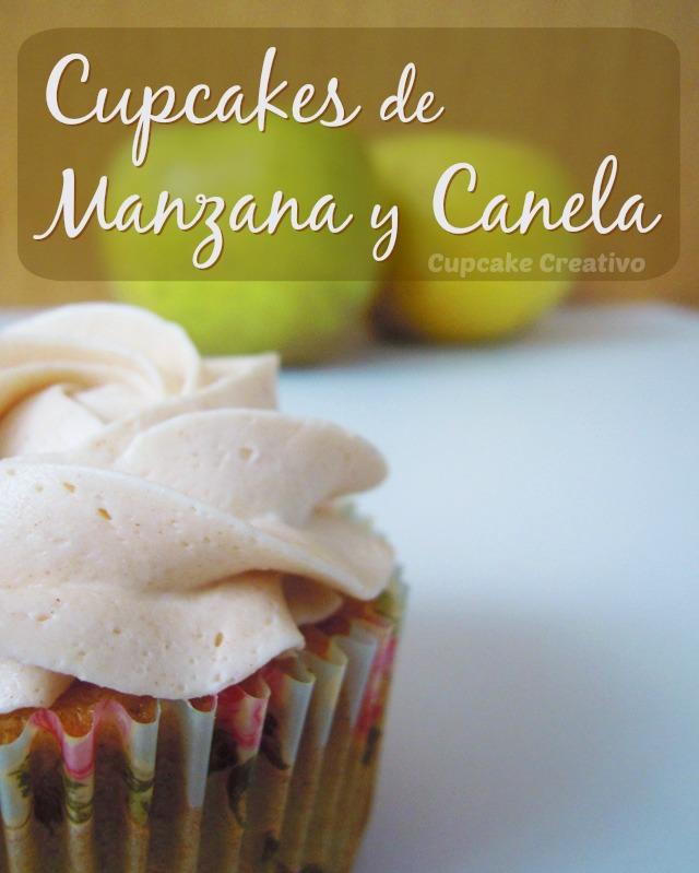 Cupcakes de Manzana y Canela, Buttercream de Canela
