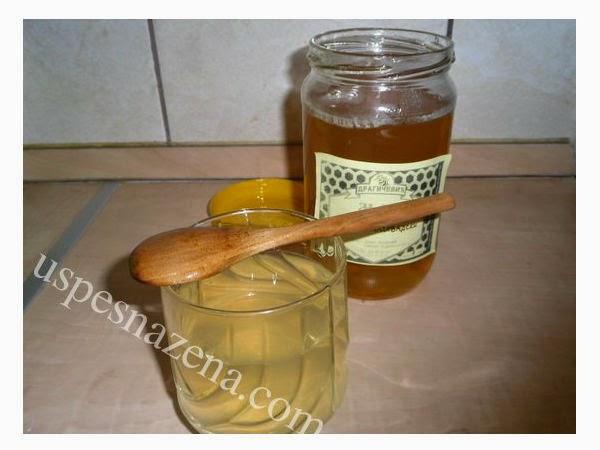 lekovita medena voda
