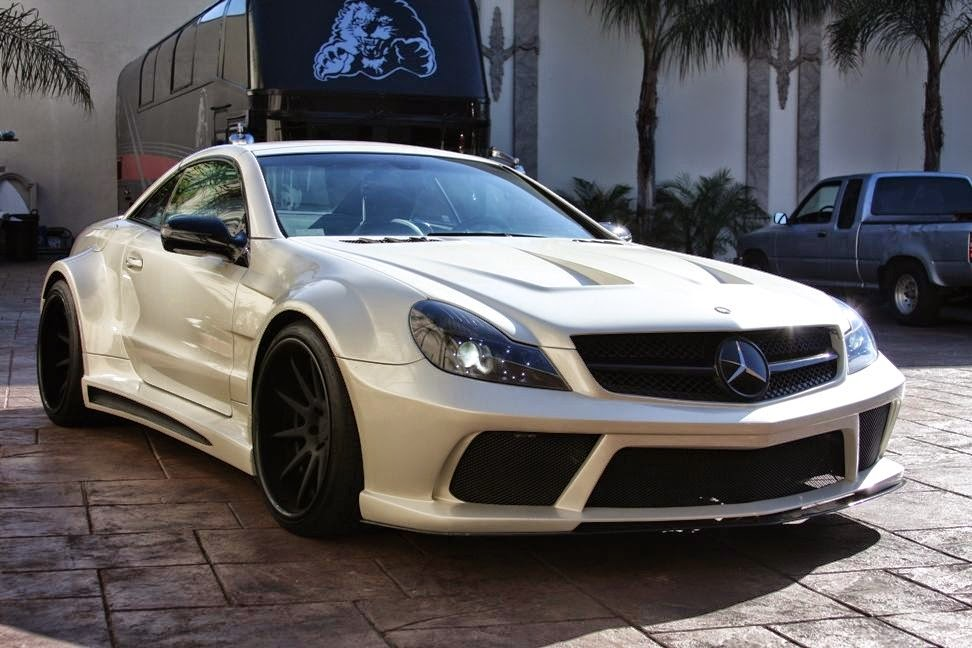 Mercedes benz r230 sl55 amg widebody benztuning r230 amg sl55 amg sciox Choice Image