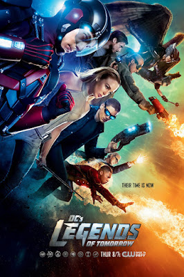 DC's Legends of Tomorrow Character Television Poster Set