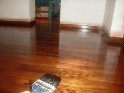 Decoraciones manualidades en madera acabados y decorados - Como pintar un piso pequeno ...