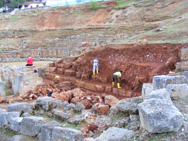 Restoration Work On Fethiye Theatre