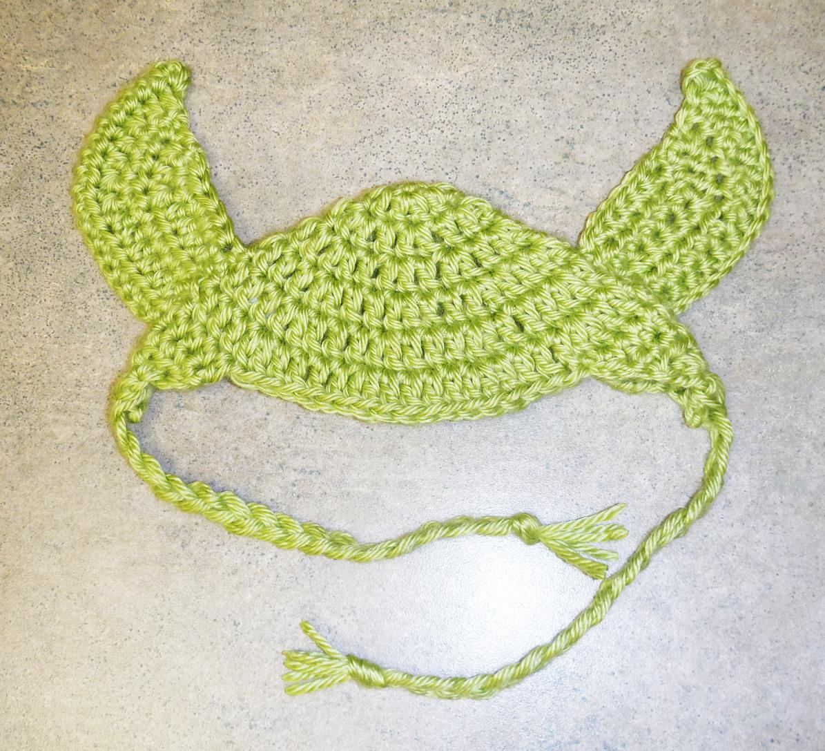 Show and Tell Meg: My First Crochet Customers - Yoda Dog Hats