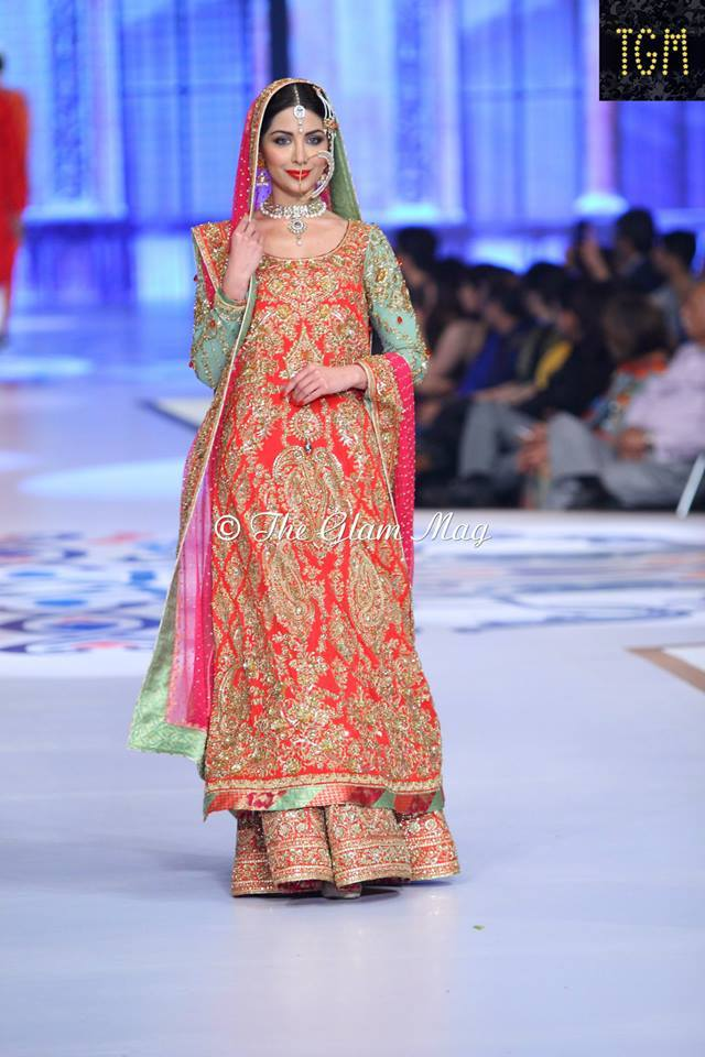 pantene bridal couture week photos
